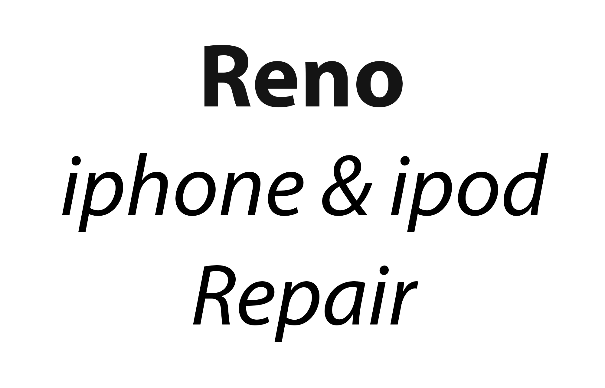Reno Iphone Ipod Repair