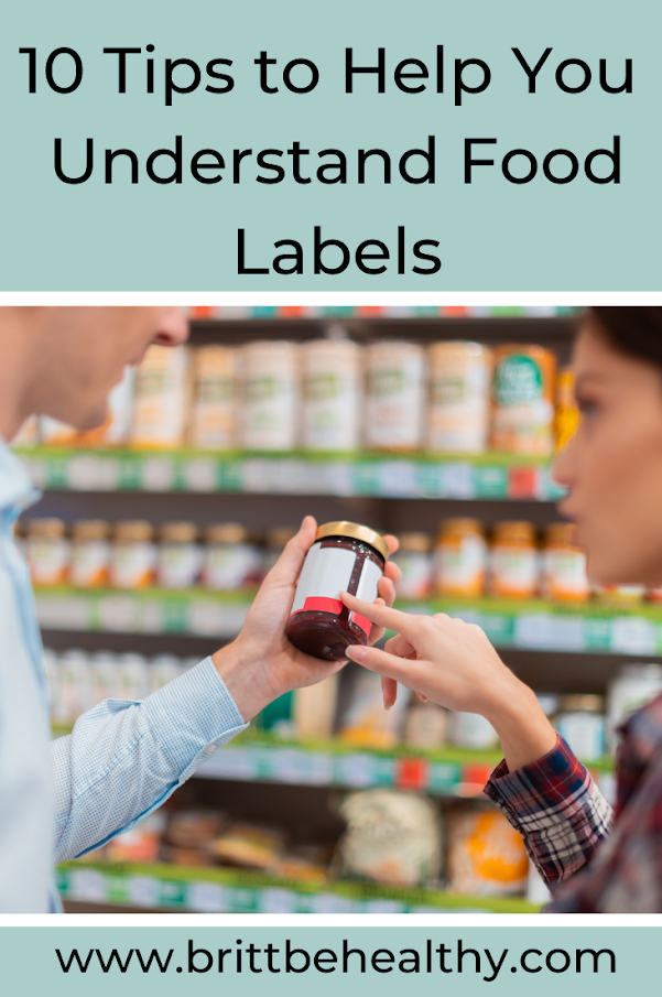 10 tips to help you understand food labels