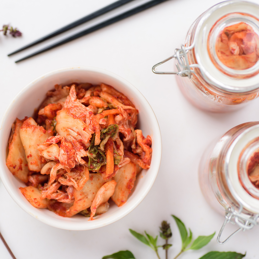 Probiotic kimchi good for the gut health