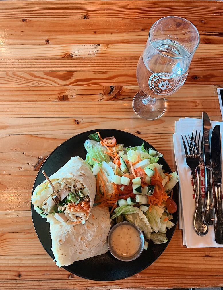 Thai Chicken Wrap at Ballast Point Brewing Company