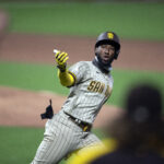 Padres' bats bail out reeling bullpen and beat Giants in extras