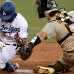 Padres move into tie for second place in NL West; defeat the Dodgers 6-2