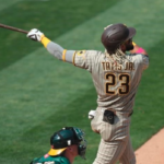 Padres defeat A's 5-3 to take three-game series