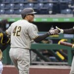 Padres bounce back with 8-3 win over Pirates