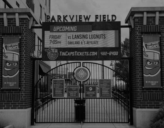 Parkview Field Fort, Wayne Indiana: Photo by Mitch J. Brunner