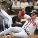 Padres' ninth inning rally falls short, drop third straight to Braves 4-3