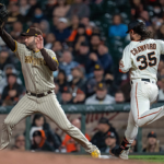 Padres snap skid, outlast Giants 9-6