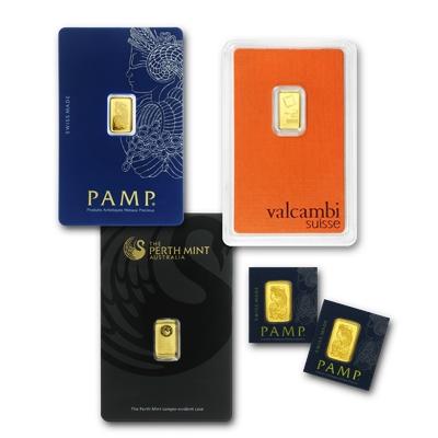 1 Gram Gold Bar Brand Name