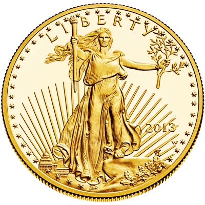 1 oz American Gold Eagle Coin