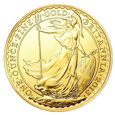 1 oz Britannia Gold Coins