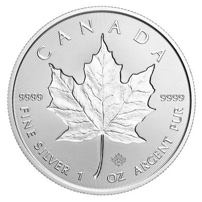 1 oz Silver Maple Leaf