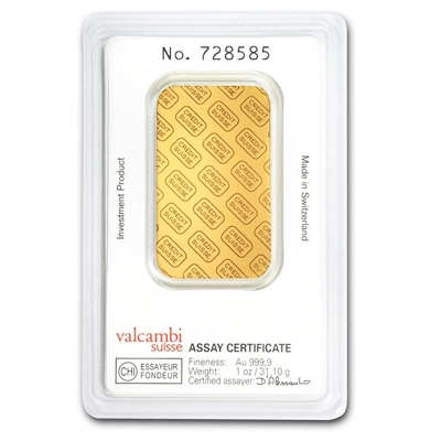 Credit Suisse Gold Bar