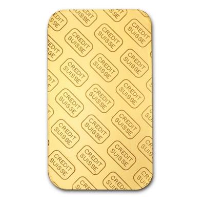 Bar 1 oz Credit Suisse Gold