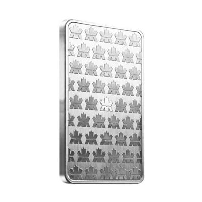 10 oz Royal Canadian Mint Silver Bars