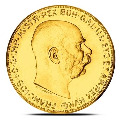 100 Corona Austrian Gold Coin