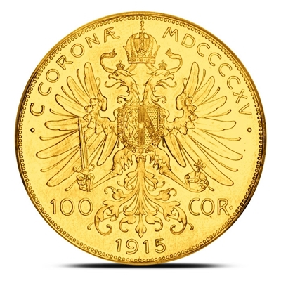 100 Corona Austrian Gold Coins