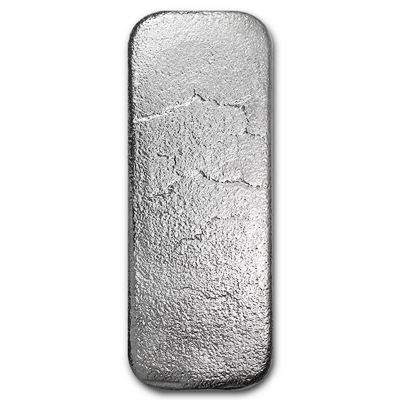 100 oz Silver Bars J M