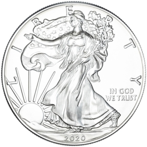 2020 1 oz Silver Eagle Coin