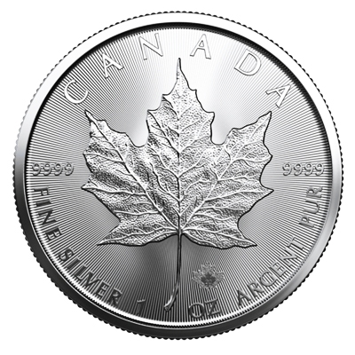2020 1 oz Canadian Silver Maple Coins