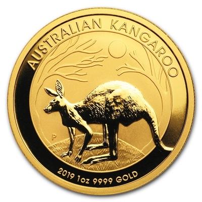1 Oz Australian Kangaroo Gold Coin