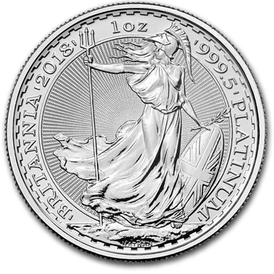 Great Britain 1 oz Platinum Britannia BU