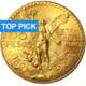 50 Gold Pesos Centenario