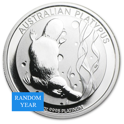 1 oz Platinum Platypus BU