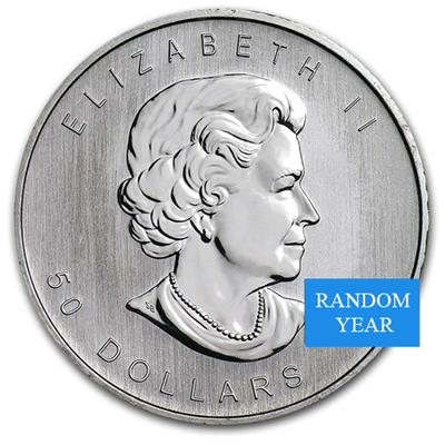 Canada 1 oz Platinum Maple Leaf BU