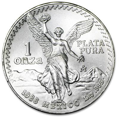 1 oz Silver Libertad BU
