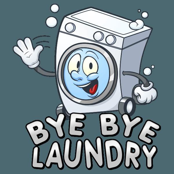Bye Bye Laundry Logo