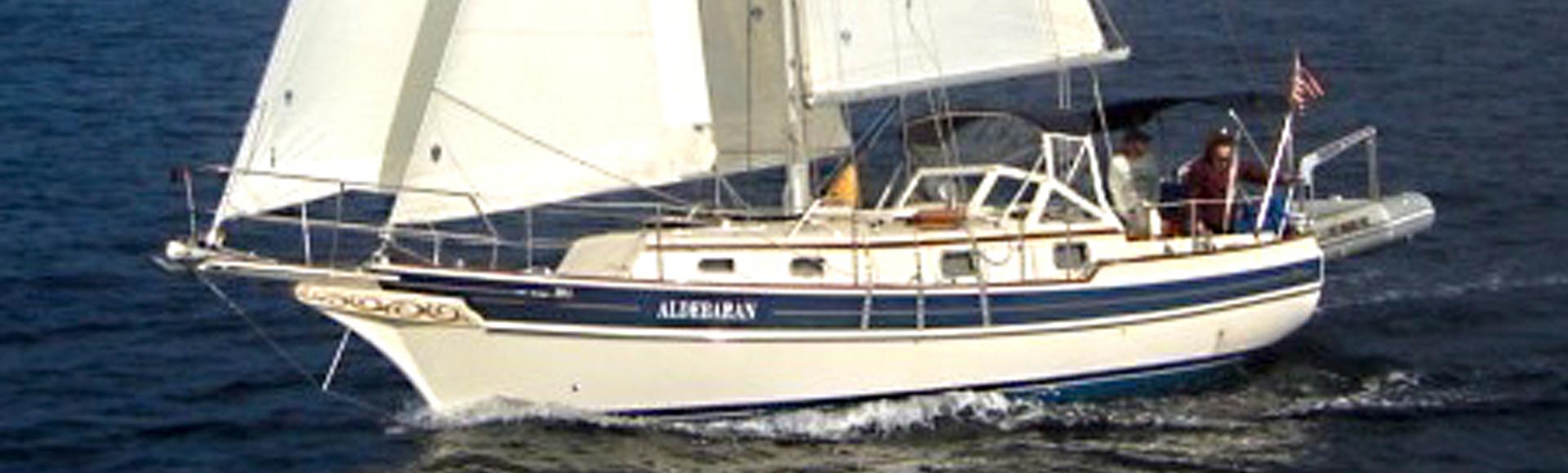 """SOLD Summer 2021 – 1997 Gozzard 31 Hull #16 """"Aldebaran"""""""