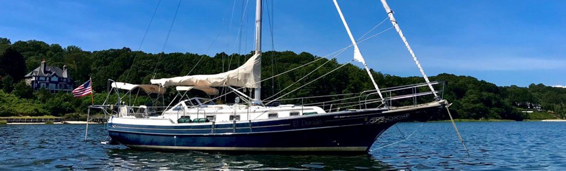 "SALE PENDING Fall 2020 1999 Gozzard 37A Hull #1 ""El Dorado"""