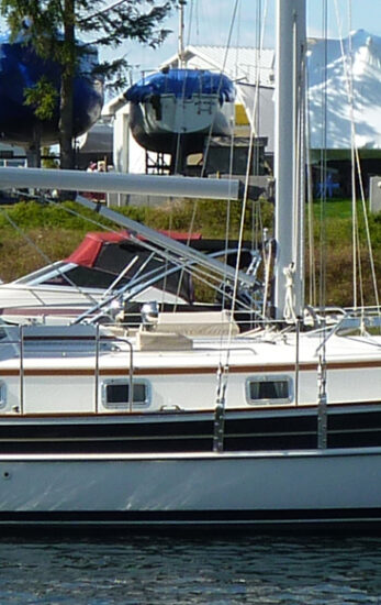 "SALE PENDING WINTER 2020 – 2005 Gozzard 41C Hull #6 ""Imagine"""