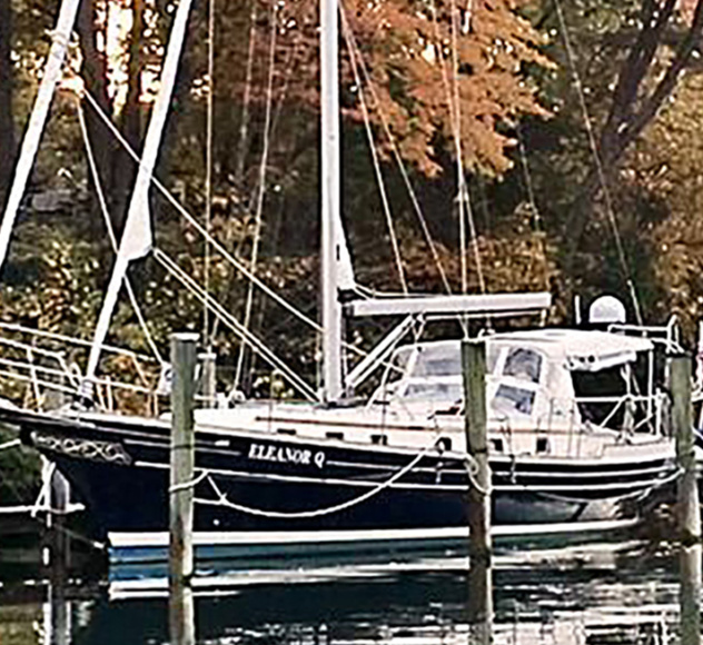 "SOLD FALL 2018 – 2006 Gozzard 41B Hull #7 ""Eleanor Q"""