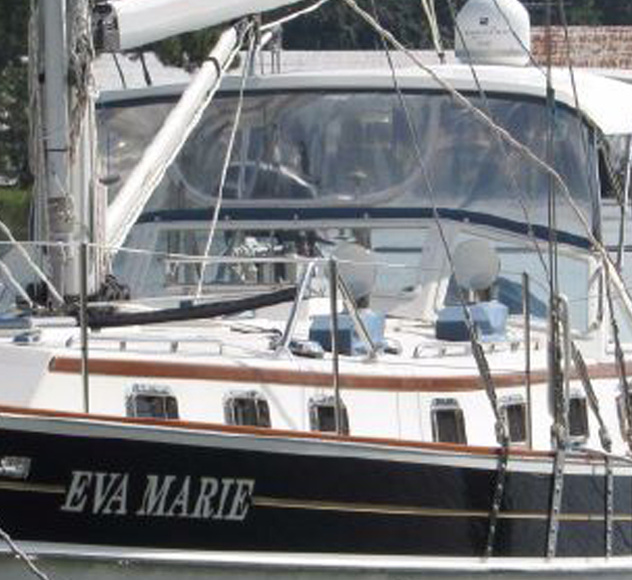 "SOLD FALL 2018 – 2007 Gozzard 44B Mk 2 Hull #23 ""Eva Marie"""