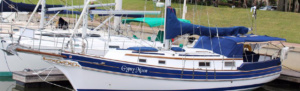 "SOLD FALL 2018 - 1988 Gozzard 36 Hull #38 ""Gypsy Moon"""