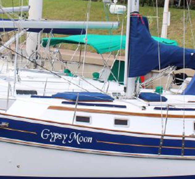 "SOLD FALL 2018 – 1988 Gozzard 36 Hull #38 ""Gypsy Moon"""