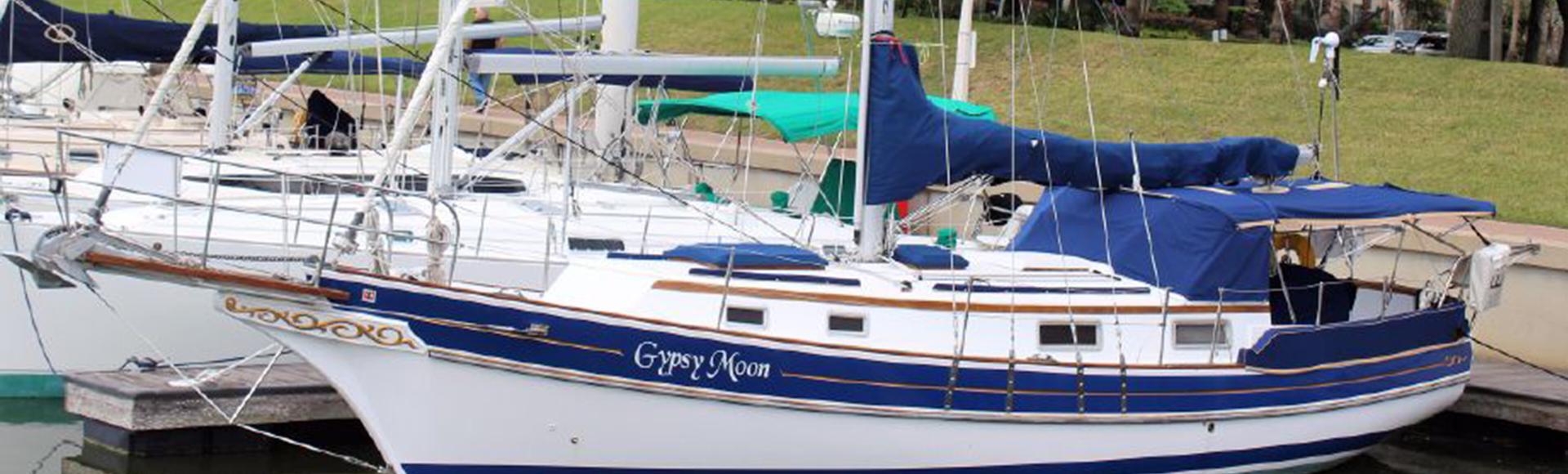 "SOLD FALL 2018 – 1988 Gozzard 36 Hull #38 ""Gypsy Moon"""
