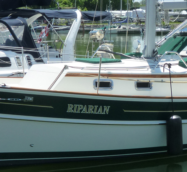 "2001 Gozzard 37A Hull #10 ""Riparian"""