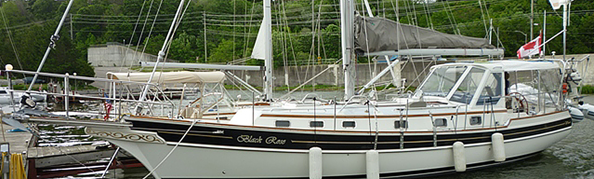 "SALE PENDING WINTER 2020 – 2002 Gozzard 41A Hull #3 ""Black Rose"""