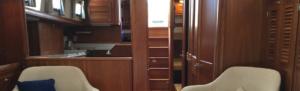 """SOLD Summer 2017! 1998 - Gozzard 44 Mk1 A Interior, Hull #16 """"Lynn Marie"""""""