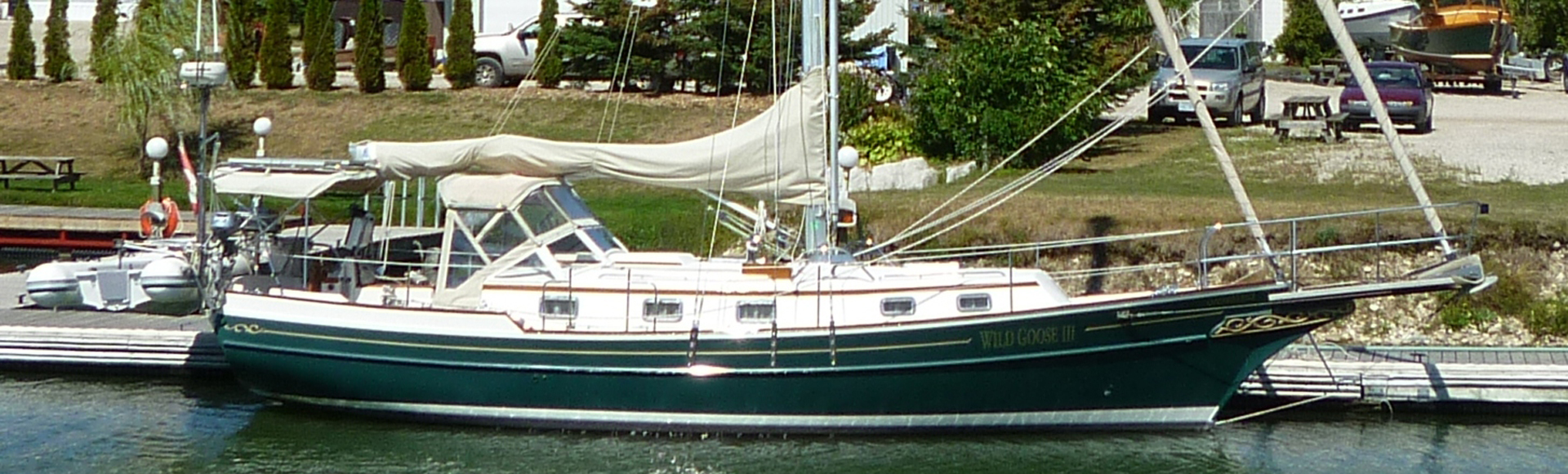"1997 Gozzard 36E Hull #77 ""Wild Goose III"""