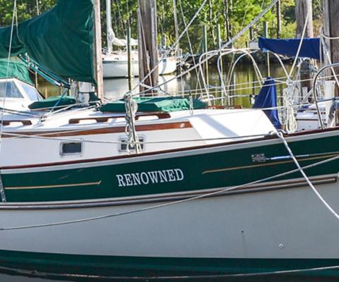 """SALE PENDING – 1989 Gozzard 36 Hull #42 """"Renowned"""""""