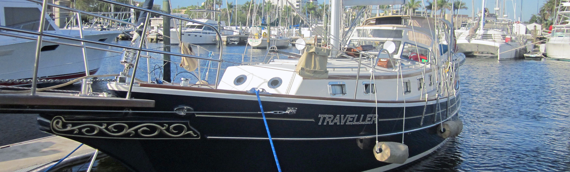 "SALE PENDING – 2002 Gozzard 37A Hull #12 ""Traveller"""