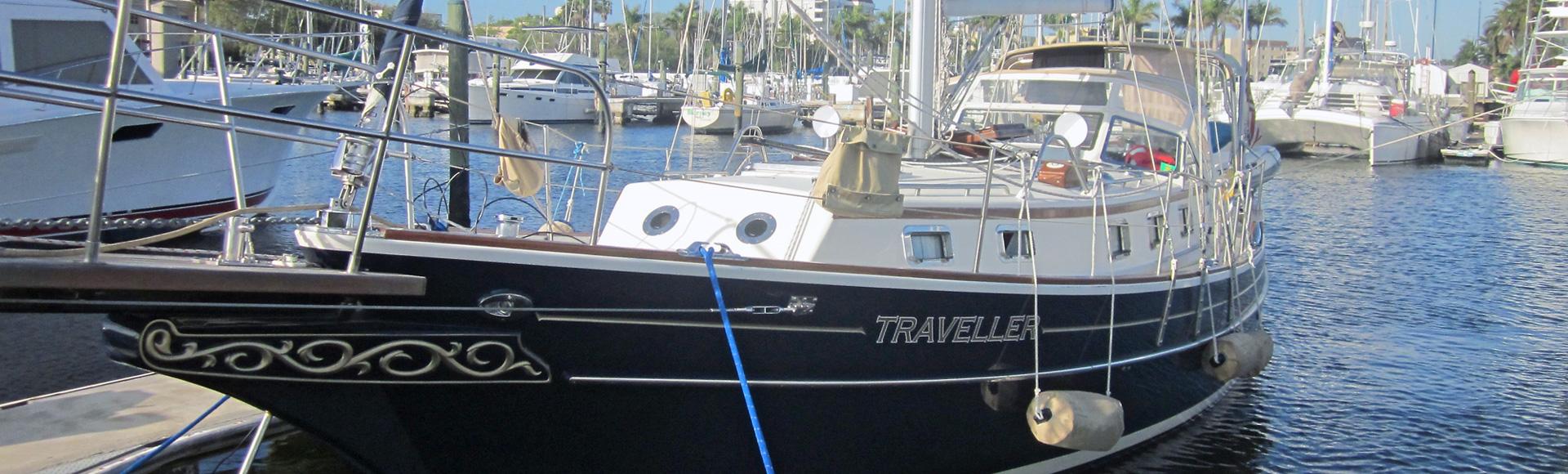 "SOLD Spring 2021 – 2002 Gozzard 37A Hull #12 ""Traveller"""
