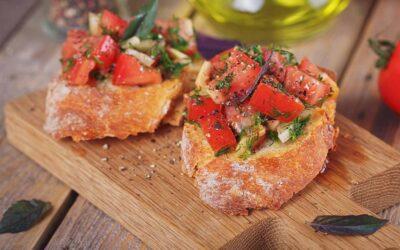 Double Tomato Crostini