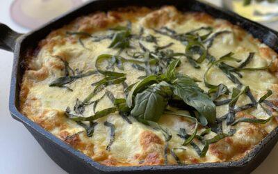 Cast Iron Skillet Pan Lasagna