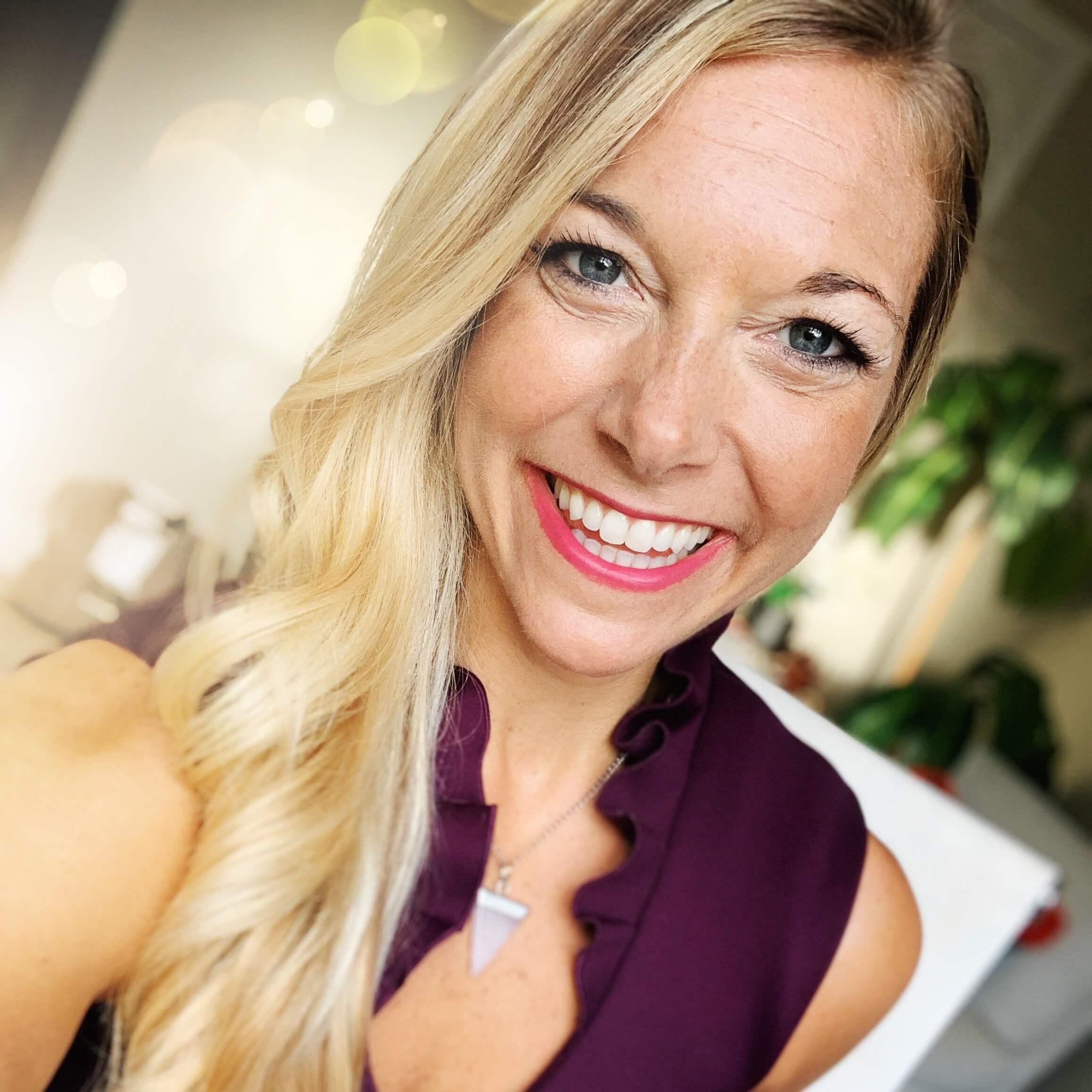 Beautiful Blonde Smiling