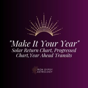 Make It Your Year: Solar Return Chart, Progressed Chart, and Year Ahead Transits