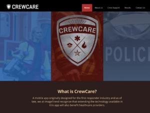 CrewCare App Designed for First Responders